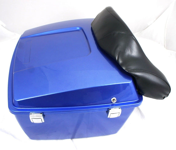 Mutazu Light Cobalt Blue King Size Tour Pak fits Harley Touring Road King Glide