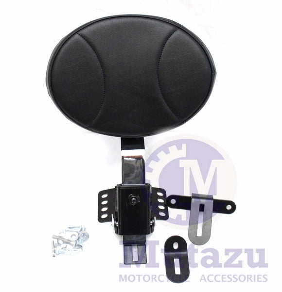 Mutazu Plug In Removable Rider Driver Backrest for Harley Touring 97 & up