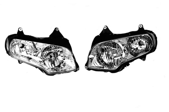 Mutazu Premium Headlight Assembly  Fits Honda Goldwing GL 1800 2001-2015 (Pair)