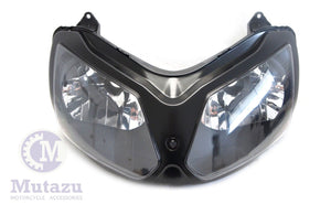 NEW Premium Headlight Head light Assembly Kawasaki ZX12R  ZX 12R 2002-2008