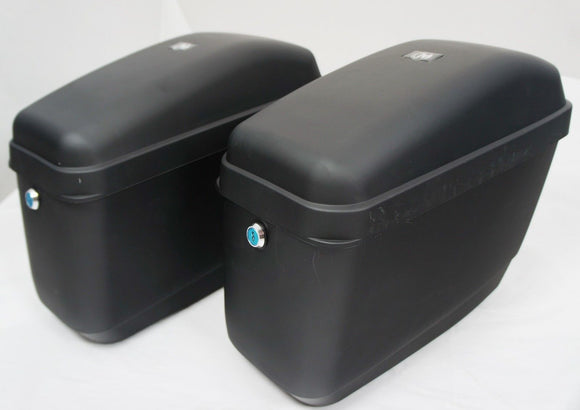 Universal GA Hard Saddlebags - Matte Black