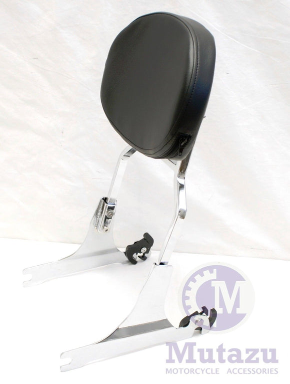 Quick Release Detachble Sissy Bar Backrest for Harley Softail FX 200mm Wide Tire