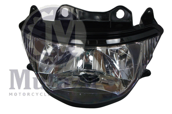 Mutazu Headlight Assembly for Kawasaki NINJA ZX6R ZX9R ZX600 ZZR600 ZX900 98-99