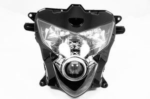 NEW Premium Headlight Head light Assembly Suzuki GSXR 600 750 2004 2005 GSXR600