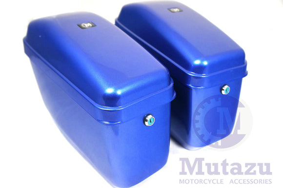 Universal GA Hard Saddlebags - Cobalt Blue