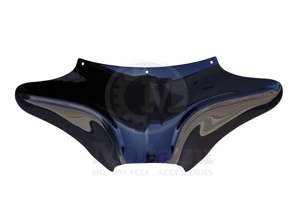Vivid Black Wide Aggressive Batwing Fairing