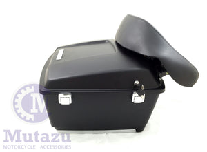 Mutazu Matte Black Complete CVO Style King Tour Pak for Harley Touring models
