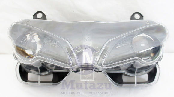Headlight Assembly Headlamp Light 2007-2011 for Ducati 1098 1198 848