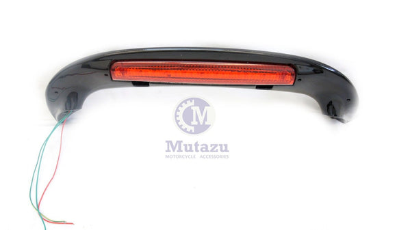 Mutazu Vivid Black LED Light Spoiler for Honda Goldwing GL 1800 2001-2013