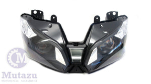 Mutazu Premium Headlight  Assembly for Kawasaki Ninja ZX6R ZX636 2013 2014