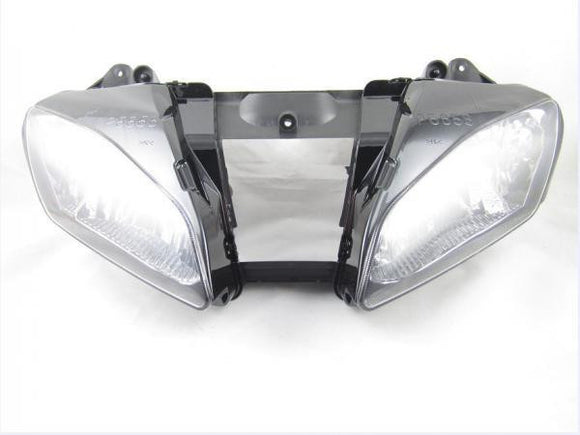 NEW Premium Headlight Head light Assembly Yamaha YZF-R6 2006-2007 06 07 clear