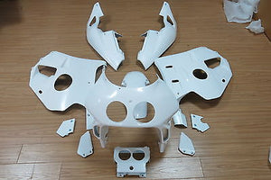 Matte White FAIRING BODY KIT injection Mold fits Honda CBR250RR 1990-1994