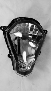 Premium NEW Headlight Head light 2012-2013 KTM 200 Duke 12-13, clear