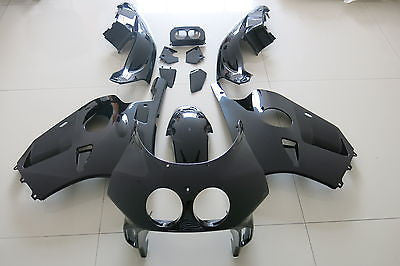 Black Finish FAIRING BODY KIT injection Molded Honda CBR250RR MC22 1990-1994 91