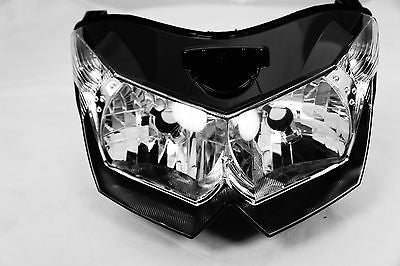 NEW Premium Headlight Head light Assembly Kawasaki Z1000 2007-2009 07 08 09