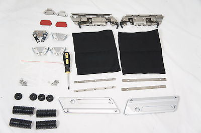 Hardware Hinge & Latch Kit for Harley Touring Hardbags (94-13)