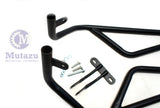 Mutazu Black Upper Engine Guard Crash Bar for Honda NC700x  NC700XD S 2012-2016