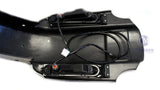 "Mutazu Dual Cut Out CVO 4"" Extended Rear Fender with LED & Wire Harness for 93-08 Harley Touring"