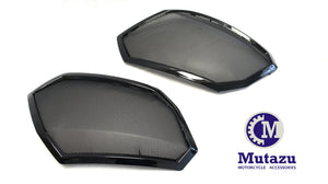 Metal Grills Screen fits 6x9 Saddlebag Audio Speaker Lids for Victory Cross Country Road