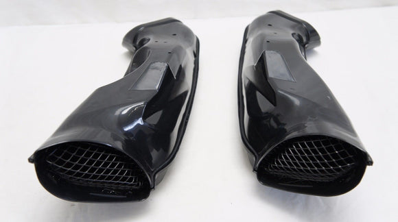 ABS Ram Air Intake Tube Ducts Duct set For Suzuki GSXR 1000 2003-2004