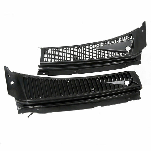 For Ford F250 F350 F450 Excursion Windshield Wiper Vent Cowl Screen Cover Panels***
