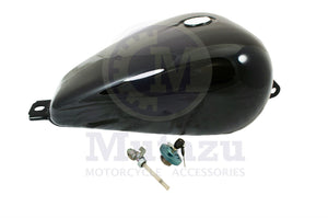 Mutazu Black Premium Quality Large Vented Gas Tank Petcock & Lock for Honda Rebel 250