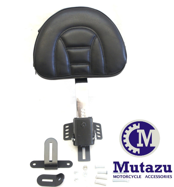 NEW Plug In Removable Rider Driver Backrest for Harley Touring
