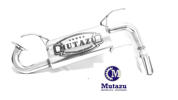 Mutazu Performance Axle-Back Exhaust Muffler For Mazda Miata NB 1999-2005 T-304