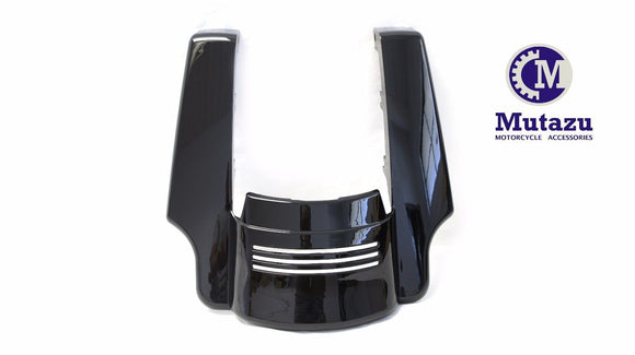 Glossy black Angled Fender Tri Bar 5