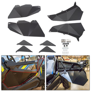 For 2014-2019 Polaris RZR Four Door 4D 900 1000 Turbo Lower Door Panel Inserts...