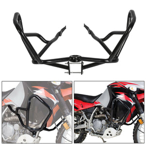 Steel Crash Bars Engine Guards For KAWASAKI KLR650 2008-2018 klr 650 Dual Sport