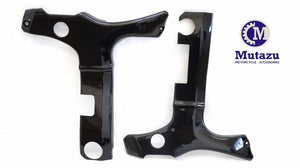 Black ABS Frame Covers for Suzuki Hayabusa GSXR 1300
