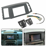 Double Din Radio Dash Kit Wiring Harness For 2005-2007 Jeep Grand Cherokee***