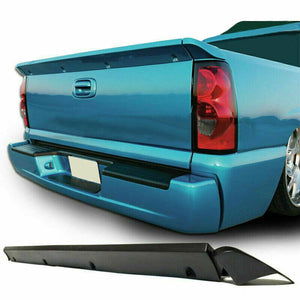 For 99-06 Chevy Silverado Tailgate Intimidator Rear Spoiler Wing SS Polyurethane***
