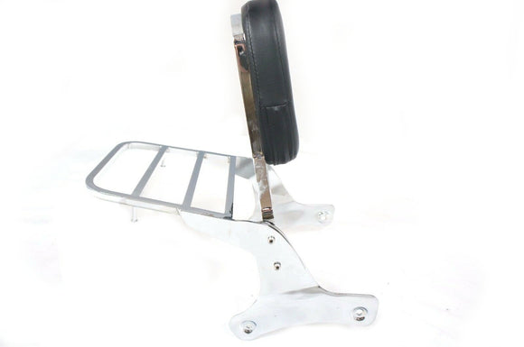 Mutazu Sissy Bar Passenger Backrest & Luggage Rack for Honda Shadow ACE VT 750
