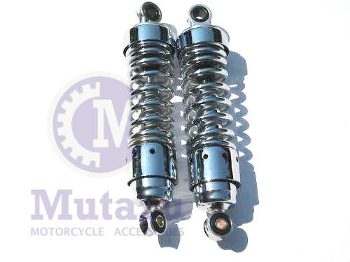 Mutazu Premium Quality Rear Shock Absorbers for Honda Rebel 250