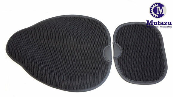 Mutazu Circulator Driver & Passenger Seat Cool Pads pad for Harley HD seats