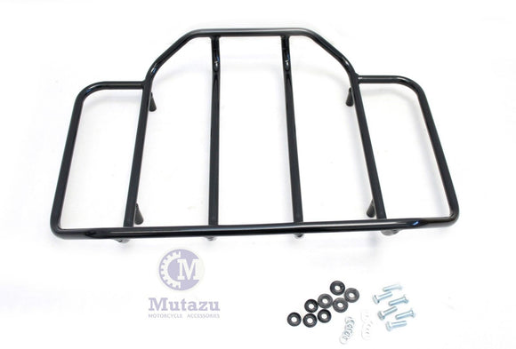 Black Luggage Rack Top Rail for 97-2013 Harley Tour Pak