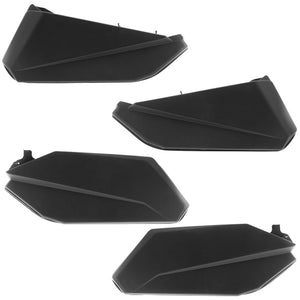 Can Am Maverick X3 MAX Lower Door Panel Insert Kit Black (Front & Rear)...