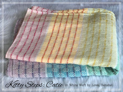 Woven Wrap: Catie in White Weft