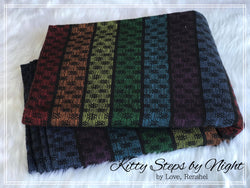 Woven Wrap: Kitty Steps by Night