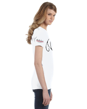 Womens White '20th Anniversary' T-Shirt