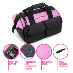 Pink Tool Bag Features