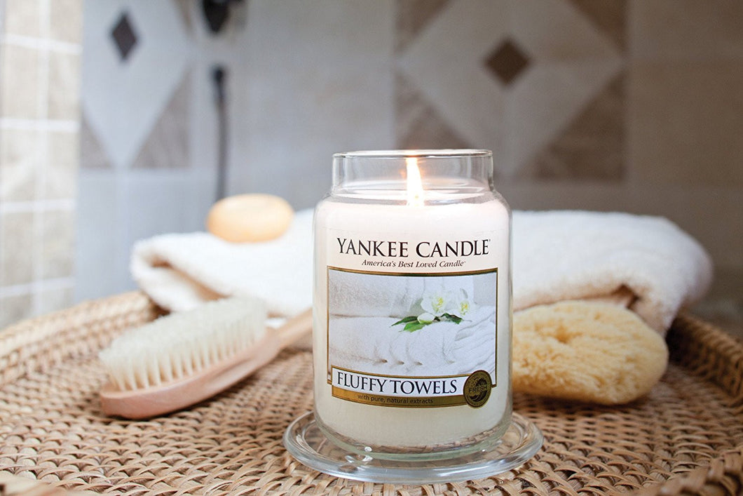 Fluffy Towels Jar Candle - Large – Finley