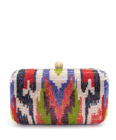 Beaded Clutch - Color Wave