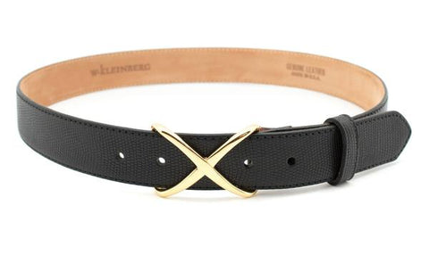 Crisscross Belt- Black
