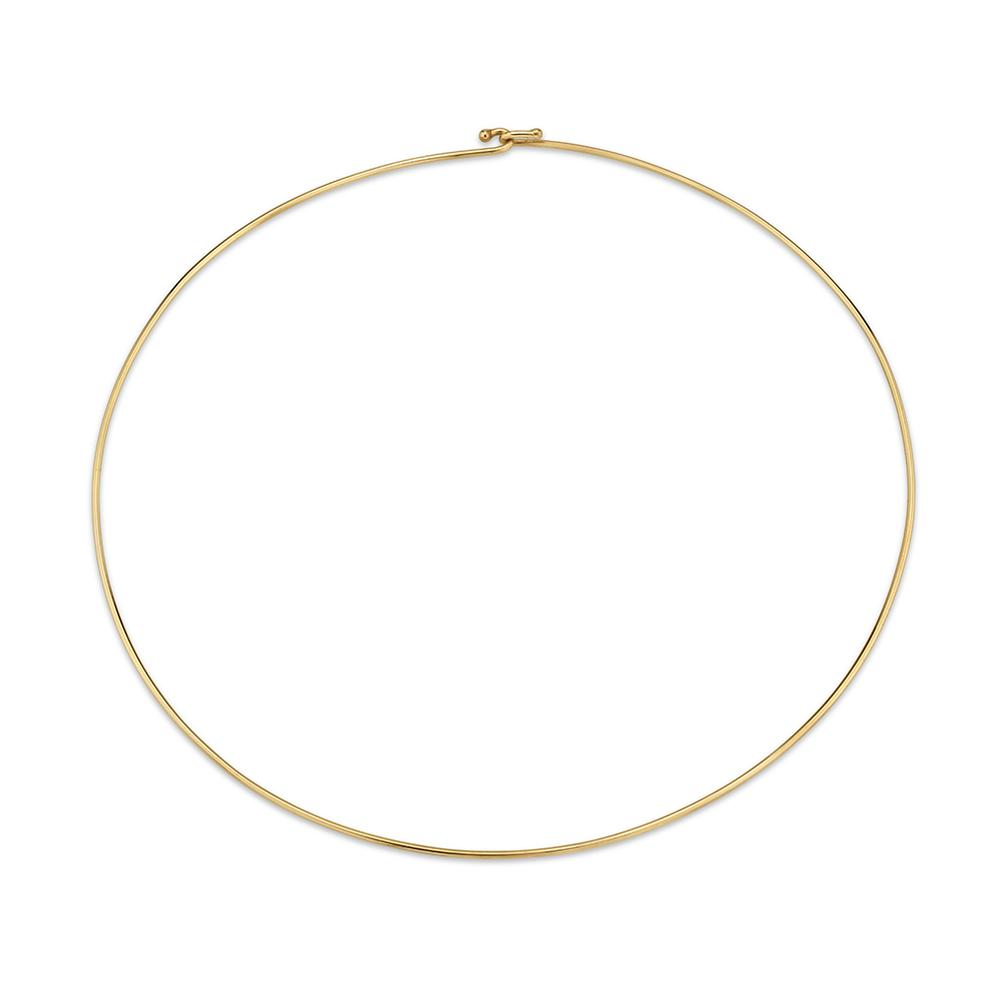 Cute as A Button - Gold Neckwire
