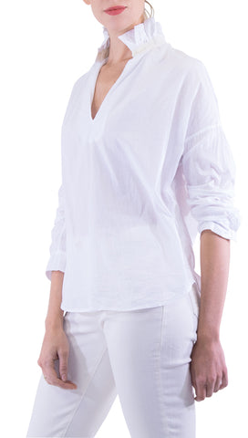 A Shirt Thing - Penelope Blouse - White