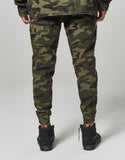 ALLDD Moto Distressed Jogger Pants