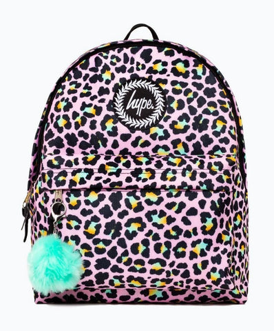 Disco Leopard Backpack
